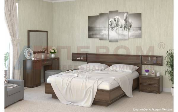 Спальни Карина - Карина - композиция 9 | ЛЕРОМ™