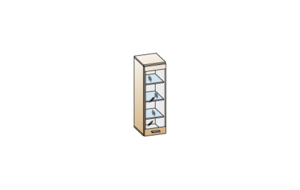 Модули: Гостиные Камелия 2021 - Антресоль АН-2626 | ЛЕРОМ™