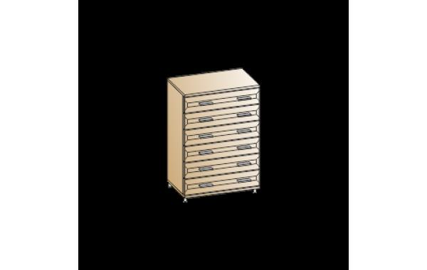 Модули: Спальни Мелисса 2021 - Комод КМ-2801   ЛЕРОМ™