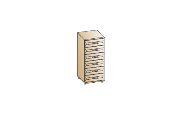 Модули: Спальни Мелисса 2021 - Комод КМ-2803 | ЛЕРОМ™