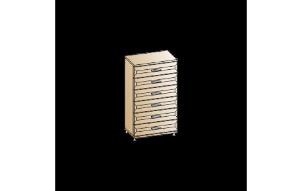 Модули: Спальни Мелисса 2021 - Комод КМ-2804 | ЛЕРОМ™