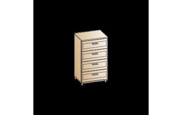 Модули: Спальни Мелисса 2021 - Комод КМ-2812 | ЛЕРОМ™