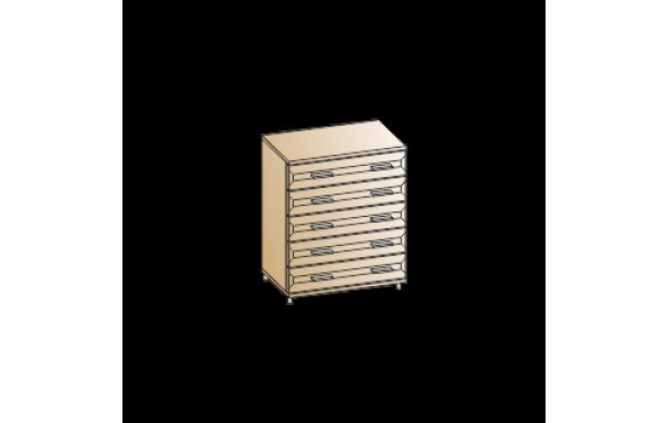 Модули: Спальни Мелисса 2021 - Комод КМ-2821 | ЛЕРОМ™