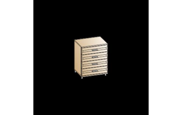 Модули: Спальни Мелисса 2021 - Комод КМ-2832 | ЛЕРОМ™