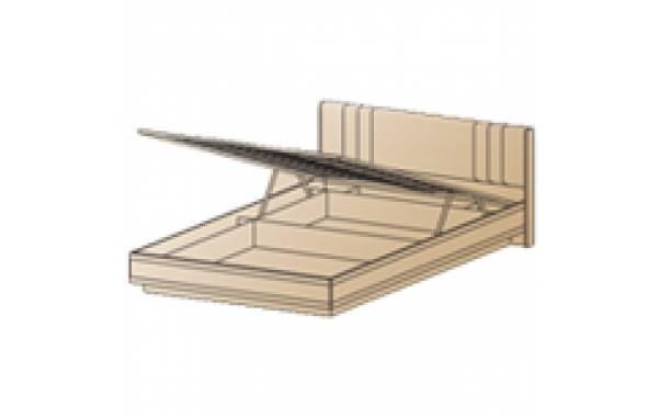 Модули: Спальни Карина - Кровать КР-1011 (1,2х2,0) | ЛЕРОМ™
