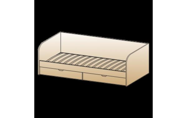 Модули: Детские Карина - Кровать КР-117 (0,9х1,9) | ЛЕРОМ™