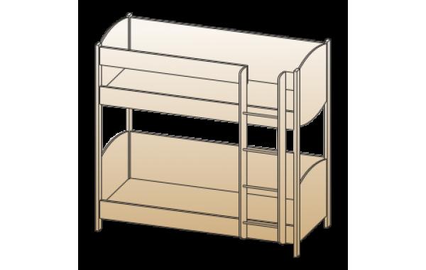 Модули: Детские Карина - Кровать КР-123 (0,9х1,9) | ЛЕРОМ™
