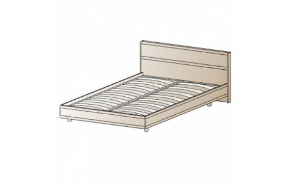 Модули: Спальни Карина - Кровать КР-2002 (1,4х2,0) | ЛЕРОМ™