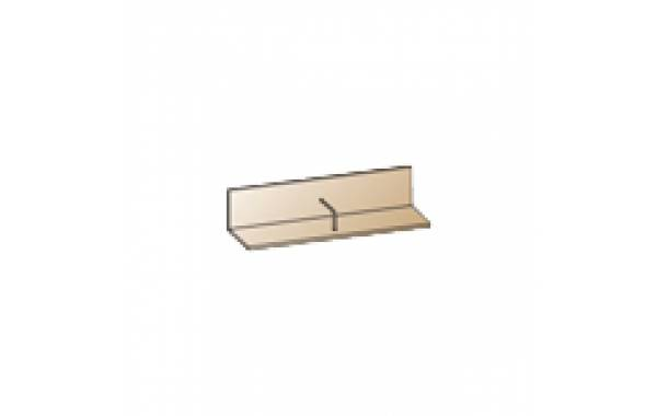 Модули: Гостиные Карина - Полка ПЛ-1003 | ЛЕРОМ™