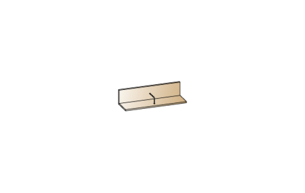 Модули: Гостиные Камелия 2021 - Полка ПЛ-2603   ЛЕРОМ™