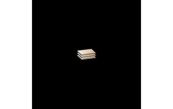 Модули: Гостиные Камелия 2021 - Полки ПЛ-1026 | ЛЕРОМ™