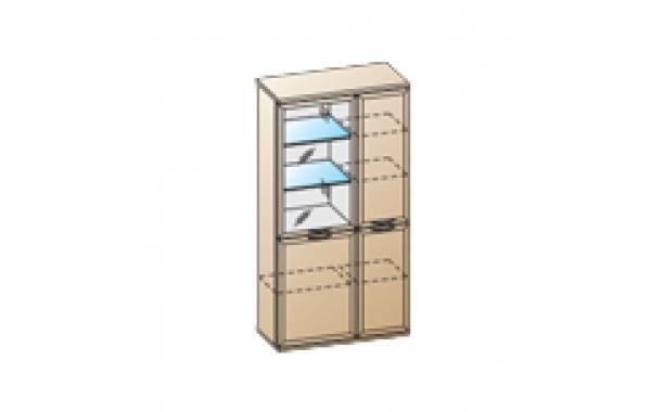 Модули: Гостиные Карина - Шкаф ШК-1072 | ЛЕРОМ™