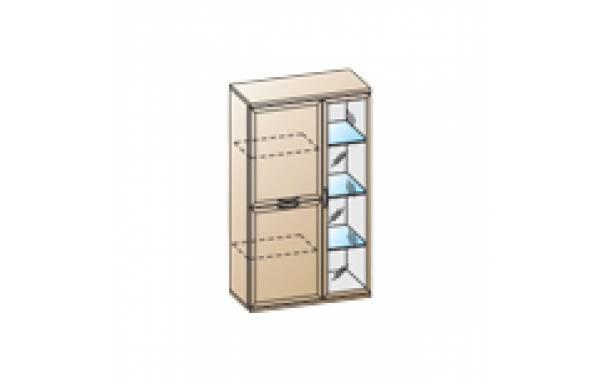 Модули: Гостиные Карина - Шкаф ШК-1082 | ЛЕРОМ™