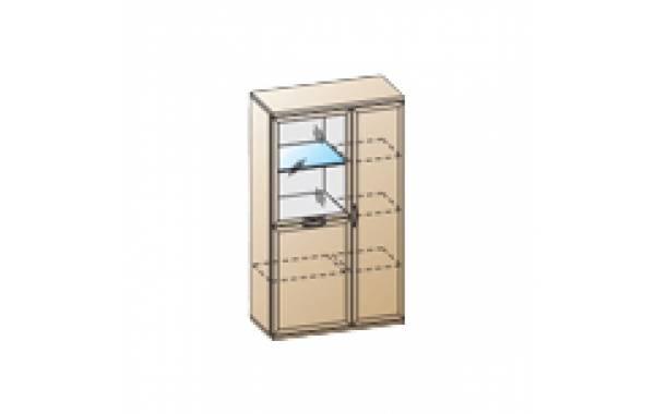 Модули: Гостиные Карина - Шкаф ШК-1084 | ЛЕРОМ™
