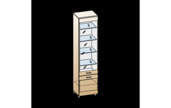 Модули: Гостиные Камелия 2021 - Шкаф ШК-2644 | ЛЕРОМ™