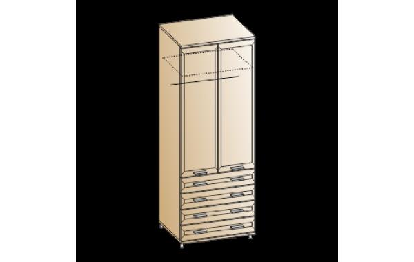 Модули: Спальни Мелисса 2021 - Шкаф ШК-2806 | ЛЕРОМ™
