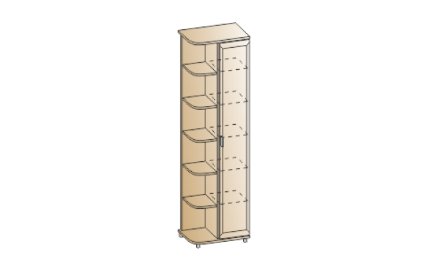 Модули: Прихожие Мелисса- 2021 - Шкаф ШК-2825 | ЛЕРОМ™