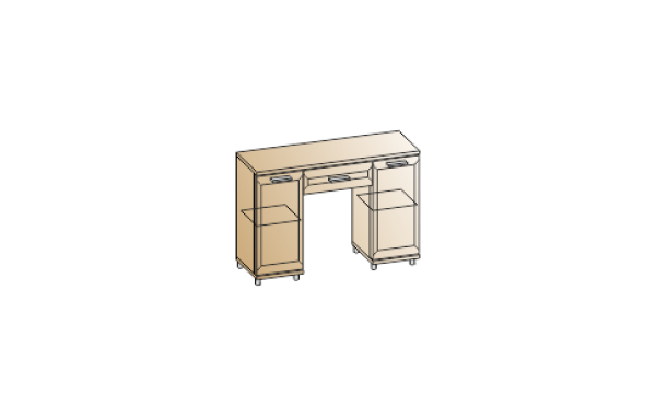Модули: Спальни Мелисса 2021 - Стол СТ-2802 | ЛЕРОМ™