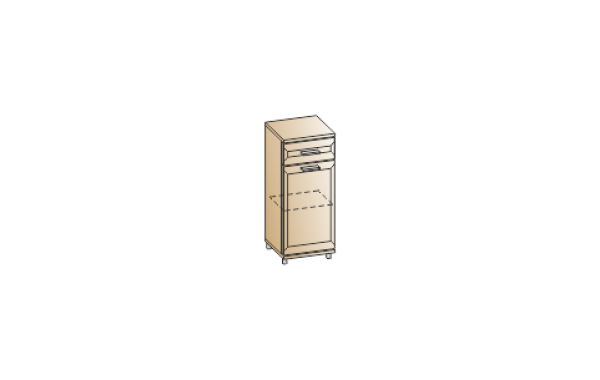 Модули: Прихожие Мелисса- 2021 - Тумба ТБ-2807 | ЛЕРОМ™