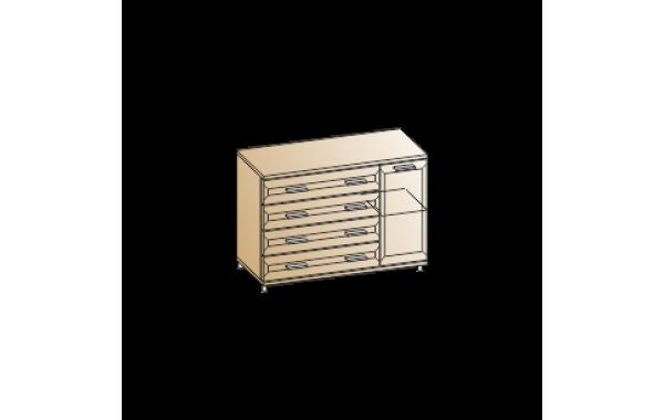 Модули: Спальни Мелисса 2021 - Тумба ТБ-2816 | ЛЕРОМ™