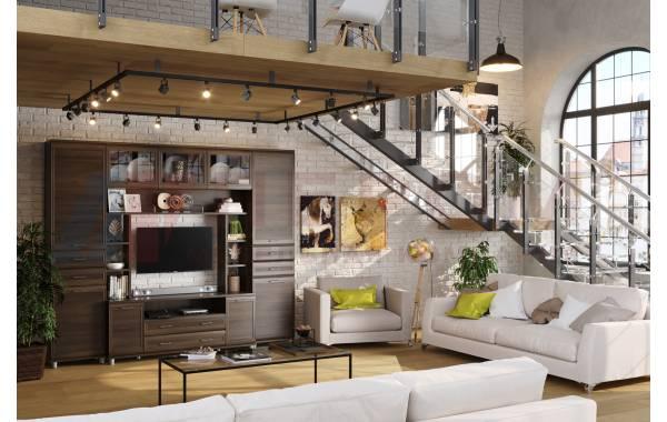 Гостиные Мелисса 2021 - Мелисса 2021 композиция 4 | ЛЕРОМ™